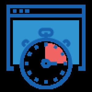 icone rapidité de paramétrage